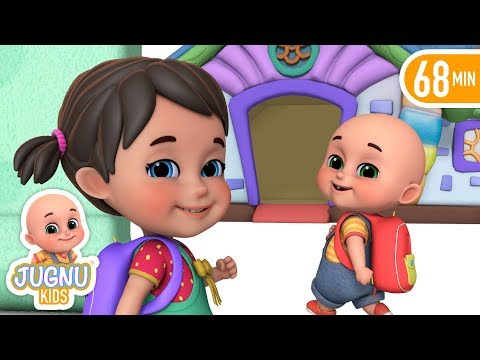 School Chale Hum - I Love My School  - Hindi Rhymes for Children by Jugnu Kids