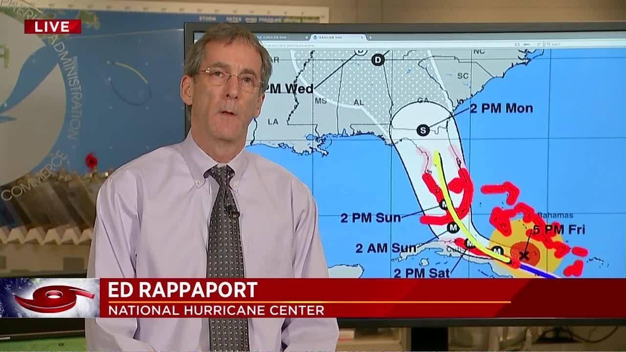 Dorian skims North Carolina, bringing high winds and 'life-threatening' storm surge