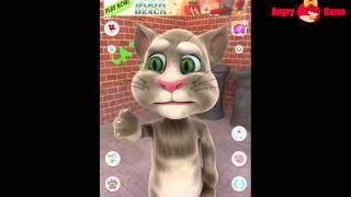 TALKING TOM CAT Game App For Kids Cartoon Movie Enjoy!