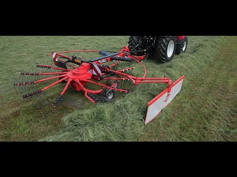 KUHN GA 4431/ 4731 / 5031 & GA 4731 T / 5031 T - Mounted & Trailed Gyrorakes (in action)