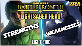 Gambar cover Lightsaber Hero Strengths And Weaknesses Light Side | Star Wars Battlefront 2 Tips