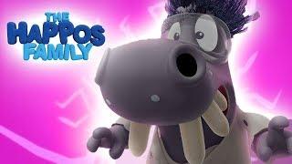 Dahi | Komik kontur Çizgi film | Happos Aile Çizgi film Animasyon Boomerang I