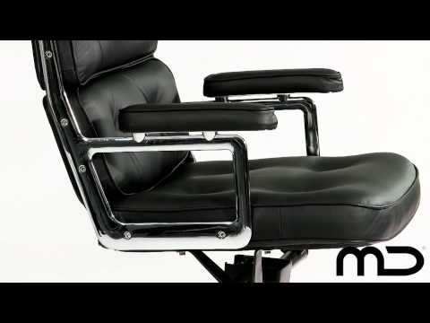 Premium Lobby Executive Office Chair Eames Replica from Milan Direct Australia