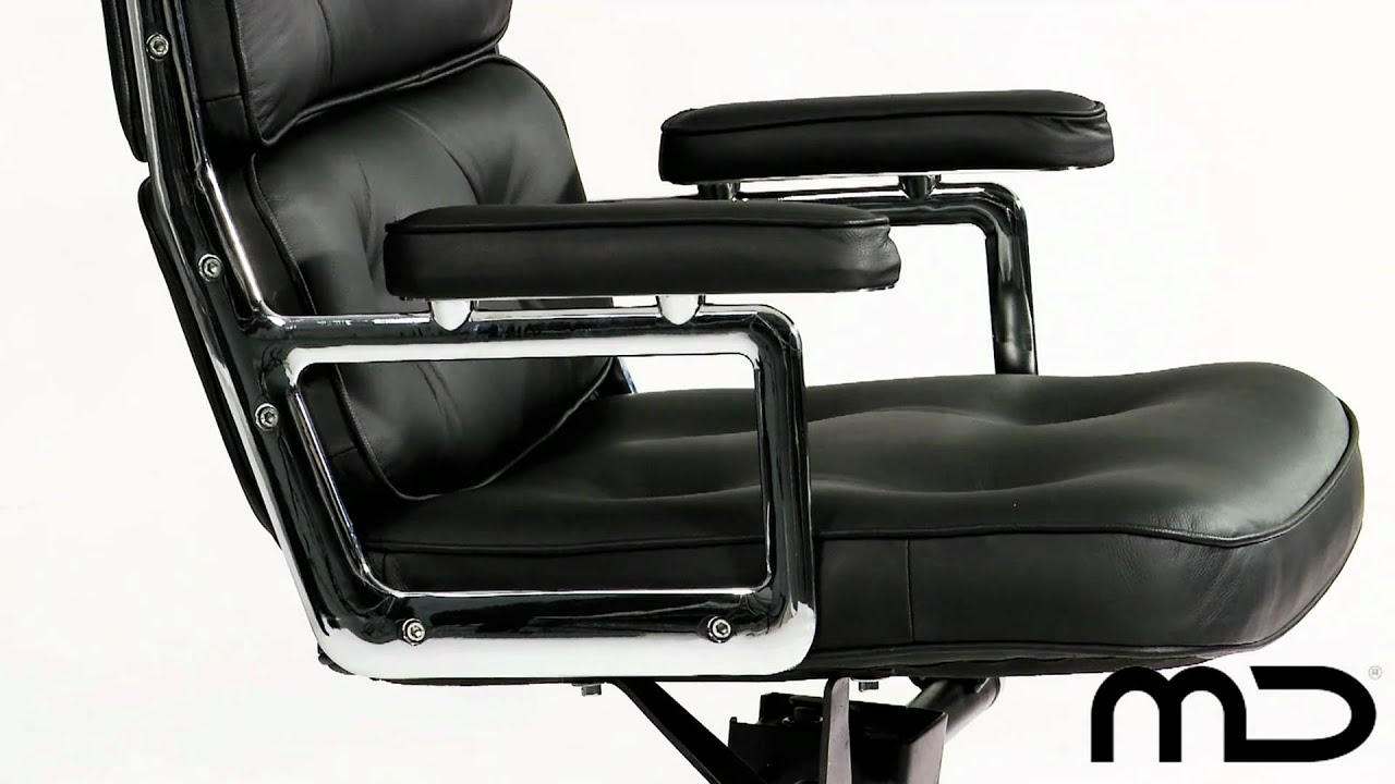 Desk Chair Youtube Office Stool Ergonomic Premium Lobby Executive Eames Replica From
