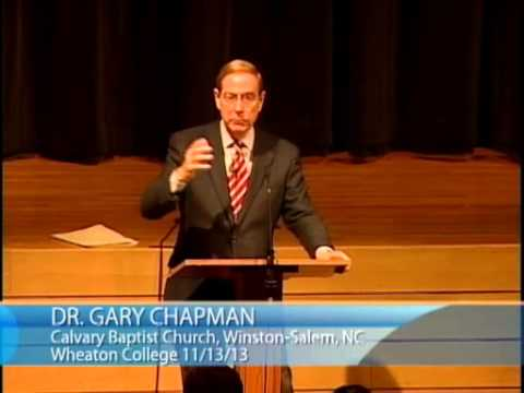 Gary Chapman | Essentials of a Healthy Marriage (11/13/2013)