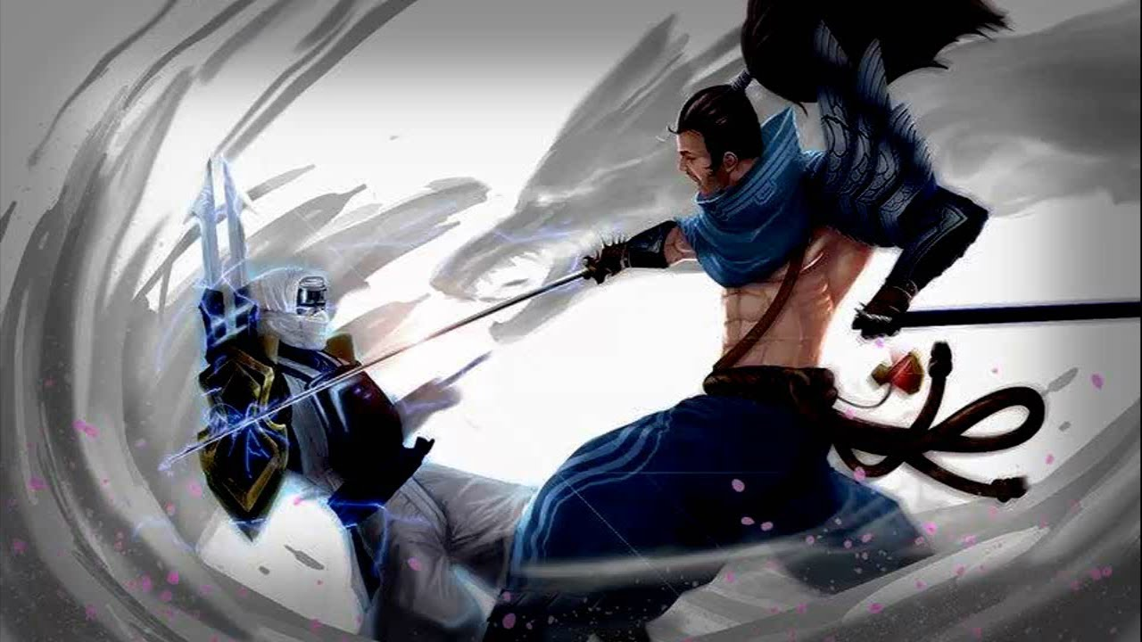 Lol Cute Riven Wallpaper Godlike Montage Zed And Yasuo Youtube