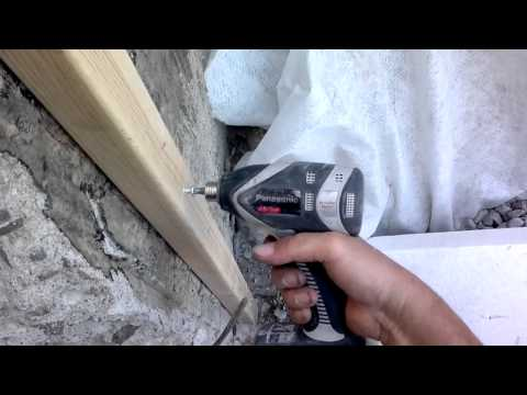 Concrete skrew/ betongskruv/ шурупы для бетона.