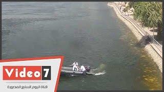 """بالفيديو.. شرطة المسطحات المائية تحذر المواطنين من الجلوس على """"الكورنيش"""""""