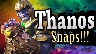 Super Smash Bros. Ultimate - What If Thanos Was Announced - (Fan-Made Trailer)