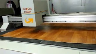 CNC titreşimli bıçak ile mineflo kesim