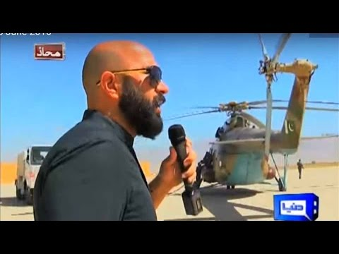 Mahaaz 18 June 2016 - Balochistan Ka Mahaaz - Wajahat S Khan meets Loralai troops