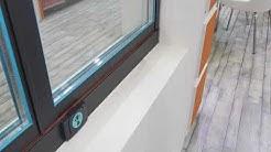 ORION - Detaylar - Isıcamlı Katlanır Cam Balkon Sistemleri