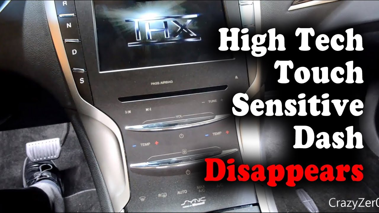 2014 lincoln mkz s disappearing dash youtube rh youtube com