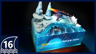 Make the Ice Worm Diorama【Subnautica/Below Zero/Resin Art/thalassophobia/サブノーティカ】