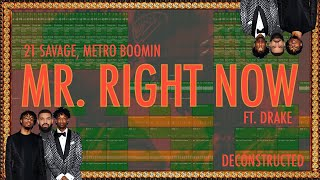 """How """"MR. RIGHT NOW"""" by 21 Savage, Metro Boomin ft. Drake was made (IAMM Remake)"""