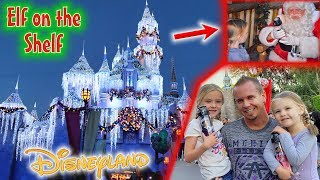 Elf on the Shelf Caught & Taken to See Santa at Disneyland! He Talks to Them!!!