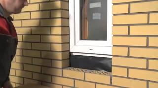 CRH Klinkier Murowanie parapetu z cegły klinkierowej film instruktażowy