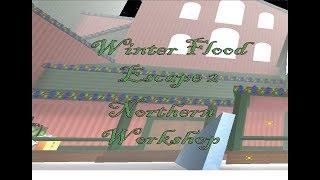 Roblox Flood Escape 2 : Northern Workshop SOLO