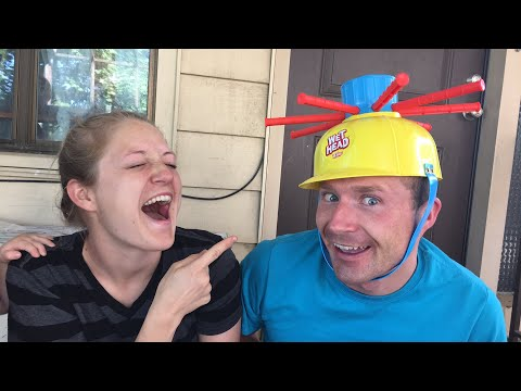 WET HEAD GAME! Becca And Ryan Show LIVE!