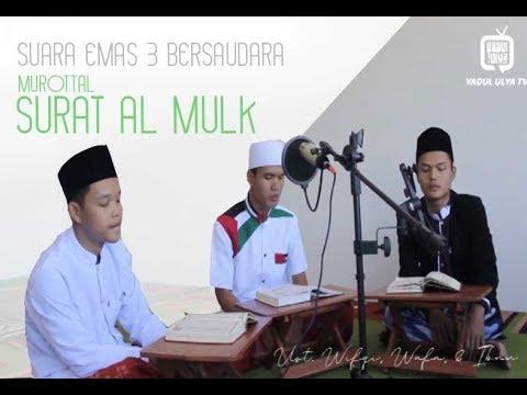 murottal-surah-al-mulk-(lagu-bayati)---suara-emas-3-bersaudara-(ust.-wifqi,-ibnu,-&-wafa)