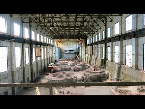 What Remains Inside This 107 Year Old Hydroelectric Dam