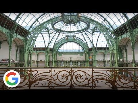 Le Grand Palais, Chef d'Oeuvre d'Acier et de Verre - Google France