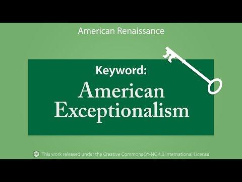 Keyword: American Exceptionalism