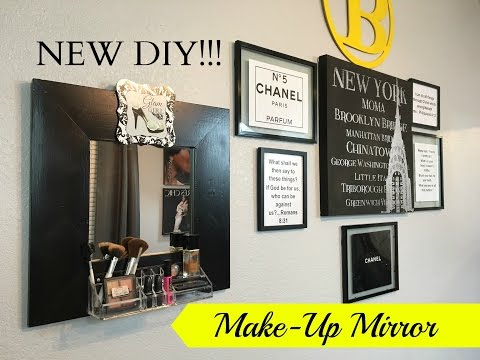 NEW DIY!  Glamour Make-up Mirror