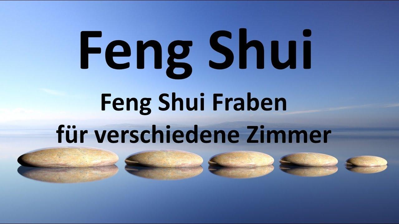 Feng Shui Farben Fur Verschiedene Zimmer Youtube