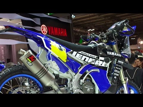 Yamaha WRF Rally Replica on EICMA