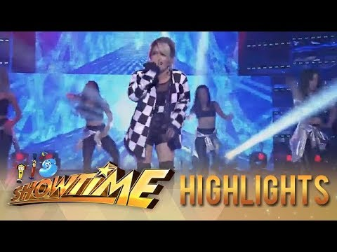 It's Showtime: KZ Tandingan shows her world class performance on It's Showtime stage