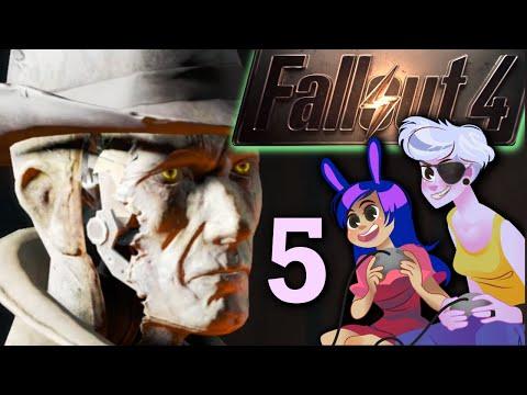 FALLOUT 4 - 2 Girls 1 Let's Play Part 5: Grumpy Mari