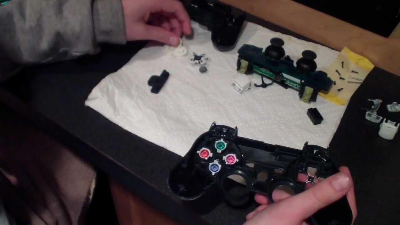 how to reassemble a ps3 controller youtube rh youtube com PS3 Controller Layout PS3 Controller Schematic