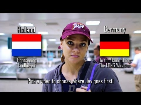 Jay Goes to Europe interactive video (Choose which country I go to!)