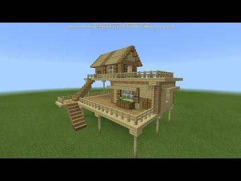 Hướng dẫn làm nhà trong Minecraft PE #1 Làm thế nào để xây nhà khởi xướng