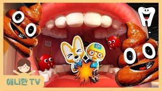인체탐험! 응가가 나온다! ♥ 소방관 공사장 인천어린이과학관  Indoor Playground Family Fun for Kids toy 뽀로로 장난감 상황극 놀이 [애니한TV]