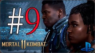 Mortal Kombat 11 |  Modo Historia |  Español Latino |  Capítulo 9 | Jax & Jacqui Briggs | PS4