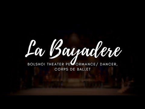 La Bayadere, Bolshoi Theater, 2013