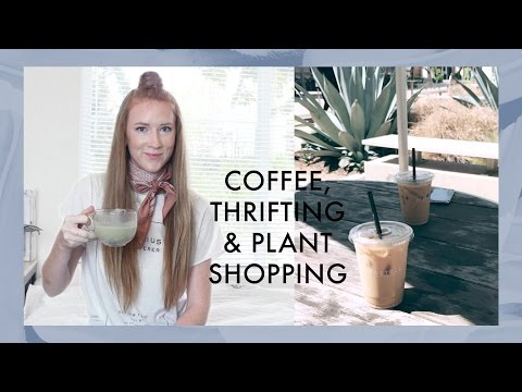 Weekend Vlog | Coffee Shops & Thrifting in Orange County, California