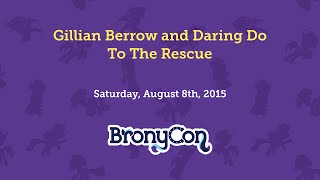 Gillian Berrow and Daring Do To The Rescue