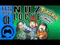 Leaf Green NUZLOCKE - 01 - TFS Plays (TeamFourStar)