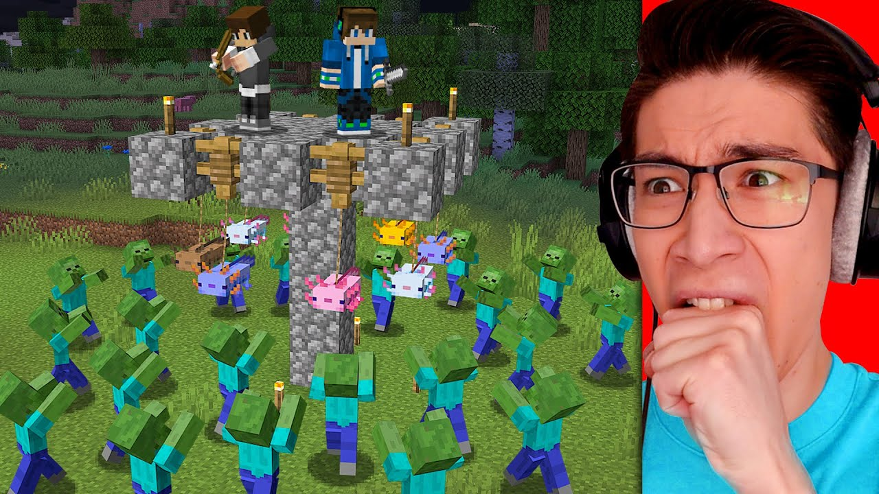 Testing Zombie Apocalypse Hacks To See If They Work in Minecraft