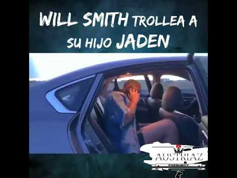 Will Smith trollea a su hijo Jaden Smith