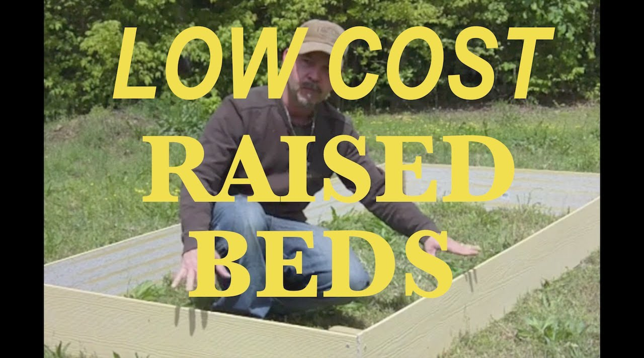 Seriously Cheap Raised beds - YouTube