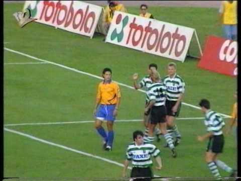 Sporting - 5 x Estoril - 1 de 1993/1994, 3/4º Lugar Taça de Honra AF Lisboa