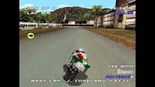 Castrol Honda Superbike Racing ... (PS1) 60fps