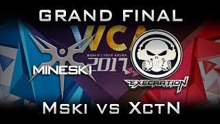 Mineski vs Execration Grand Final WCA 2017 SEA Highlights Dota 2