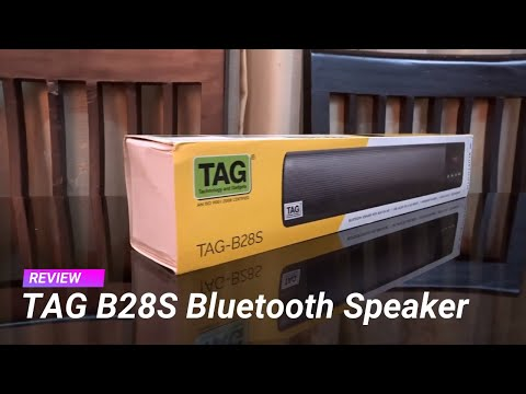 TAG B28S review - Portable Speaker with FM Radio, Digital Clock and more