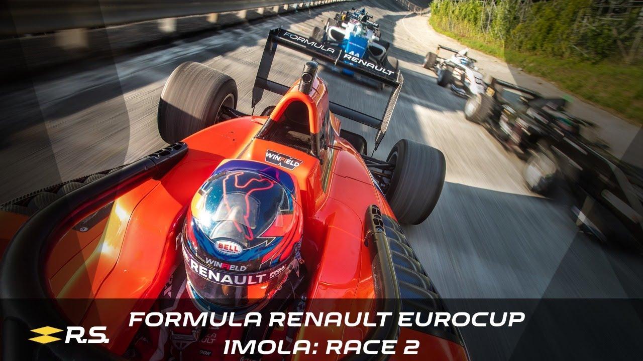 2020 Formula Renault Eurocup - Imola - Race 2 Live