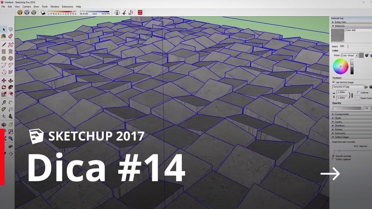 SketchUp - Dica#14 - Plugin Floor Generator - YouTube